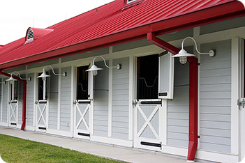 horse stables and barns equestrian stabling horse stables 351x234